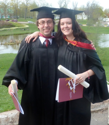 Geoff Campbell and Aja Cooper Graduating from Mount Allison University