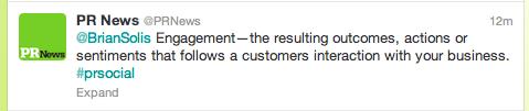 @PR News Twitter Mistake