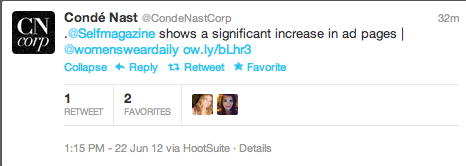 @CondeNastCorp Knows the difference between @replies and mentions