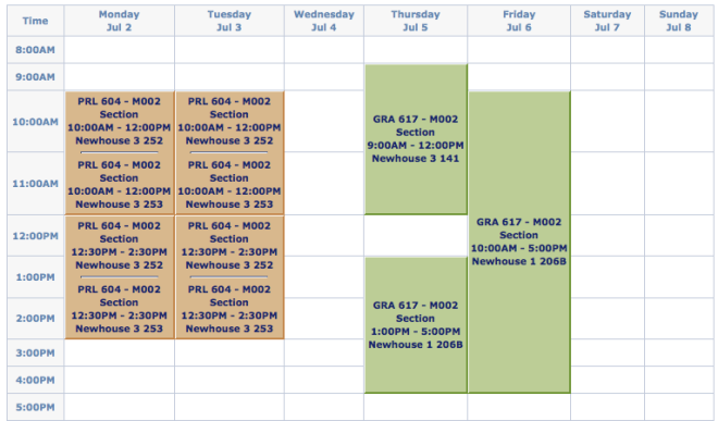 "Public Relations Master's ""Boot Camp"" Schedule at the S.I. Newhouse School of Public Communications"