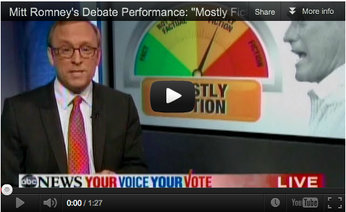 Romney Debate Performance