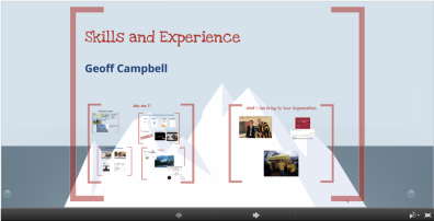 Geoff Campbell Skills and Experience