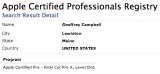 Final Cut Pro X Certification