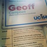 Geoff Campbell Google Analytics Presentation