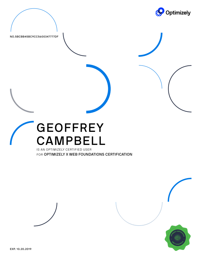 Geoffrey Campbell Optimizely X Web Foundations Certification.png